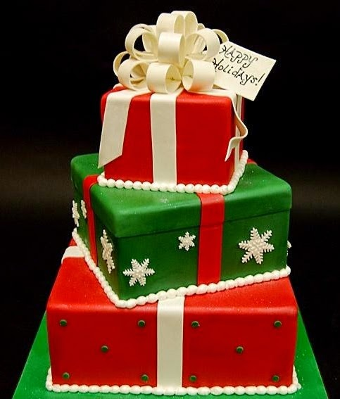 Different Types Of Icing For Christmas Cakes