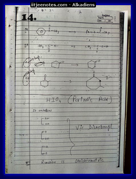 Alkadiens Notes4