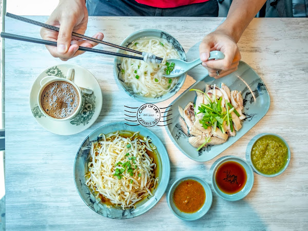 Ipoh Oon Kee Taugeh Ayam 怡宝安记芽菜鸡 @ Lebuh Acheh, Georgetown, Penang