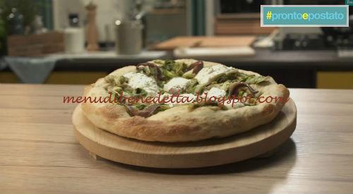 Pronto e postato - Pizza di scarola e acciughe ricetta Benedetta Parodi