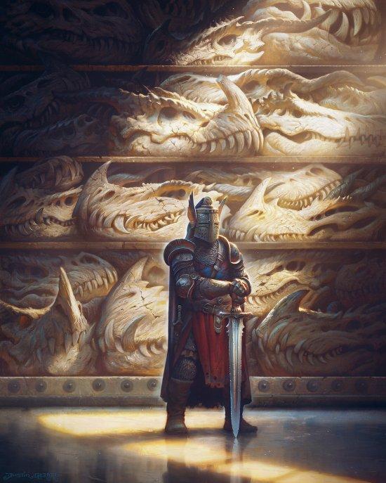 Justin Gerard artstation arte ilustrações fantasia criaturas fantásticas games