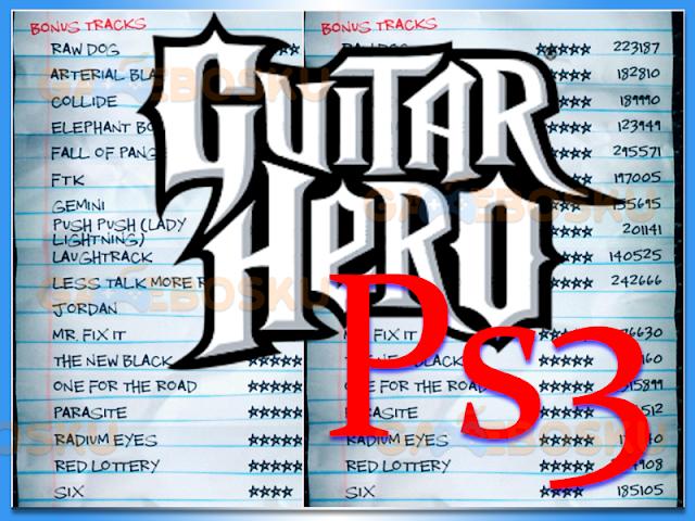 cara-cheat-guitar-hero-ps3-buka-semua-lagu