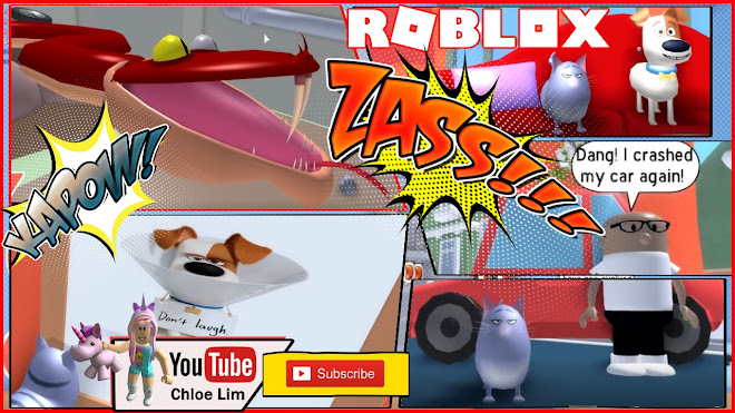Roblox The Secret Life of Pets Obby Gameplay! Chloe playing an obby as CHLOE CAT!