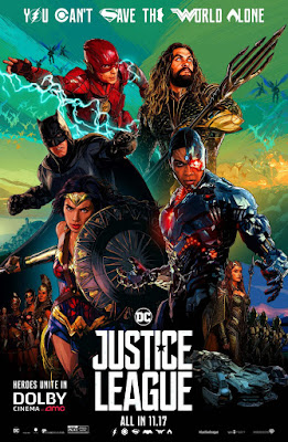Justice League DOLBY Cinema Theatrical One Sheet Movie Poster