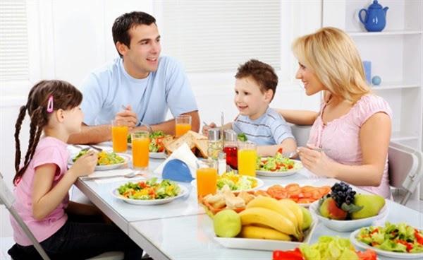 ejemplo de dia a dia como comer