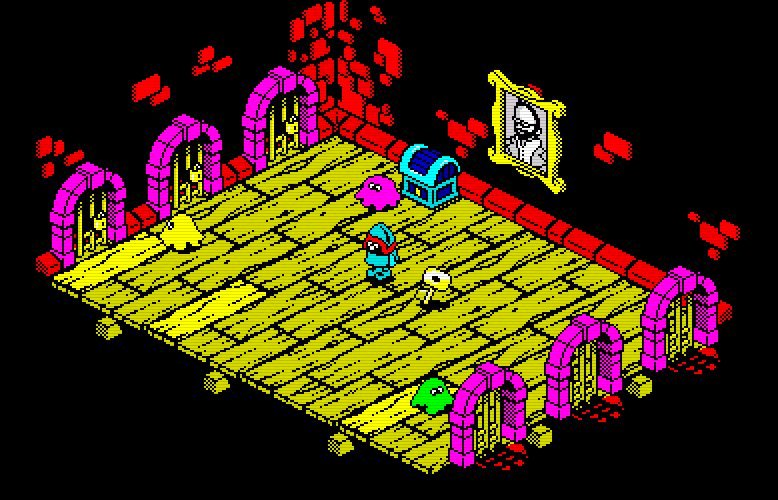 Indie Retro News: Ultimate Play the Game 'Atic Atac' remake is