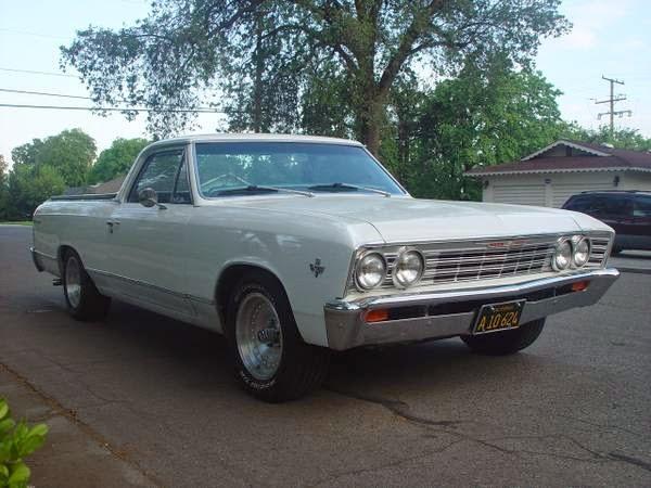 1967 Chevrolet Malibu El Camino Pickup Buy American