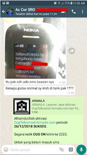 Testimoni CUG Telkomsel Kartu Pasangan Kartu Komunitas Kartu Soulmate Kartu Couple 26 Desember 2018