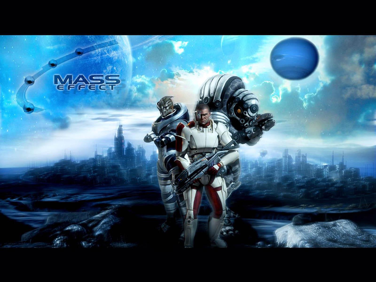 Mass Effect Desktop Backgrounds: Wallpapers: Mass Effect
