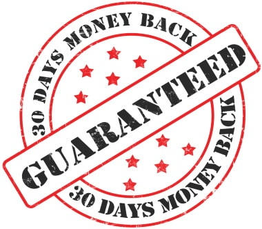 Money back - a condition when you can return an item you bought