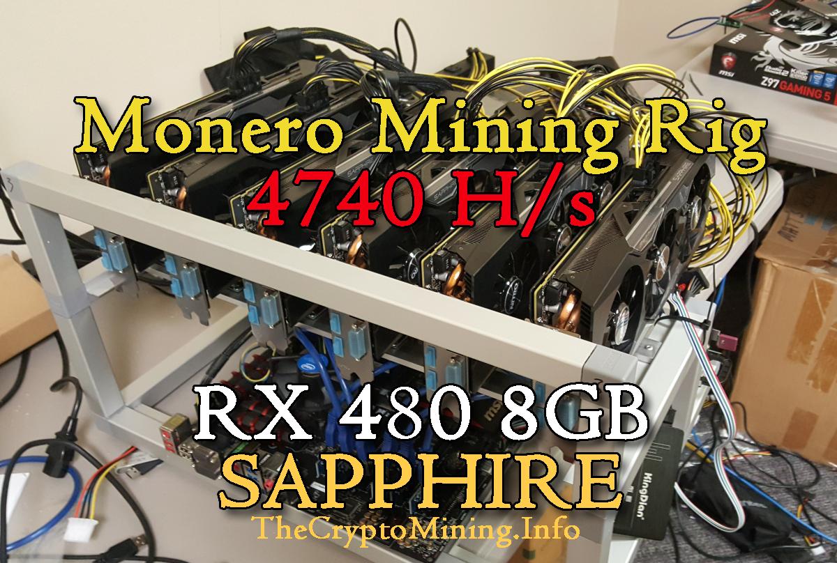 Profitable Monero Mining Rig Producing 4740 Hs   <a href=