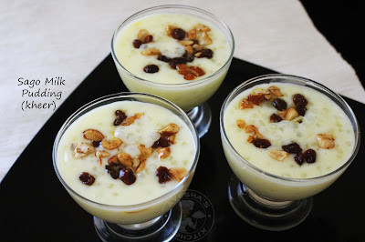 ayesha kitchen tasty kheer dessert recipes simple kheer payasam sabudana or sago yummy treat for party simple dessert after meal