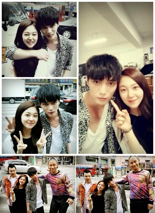 Jaejoong Girlfriend 2014 Credits nate   topstarnews