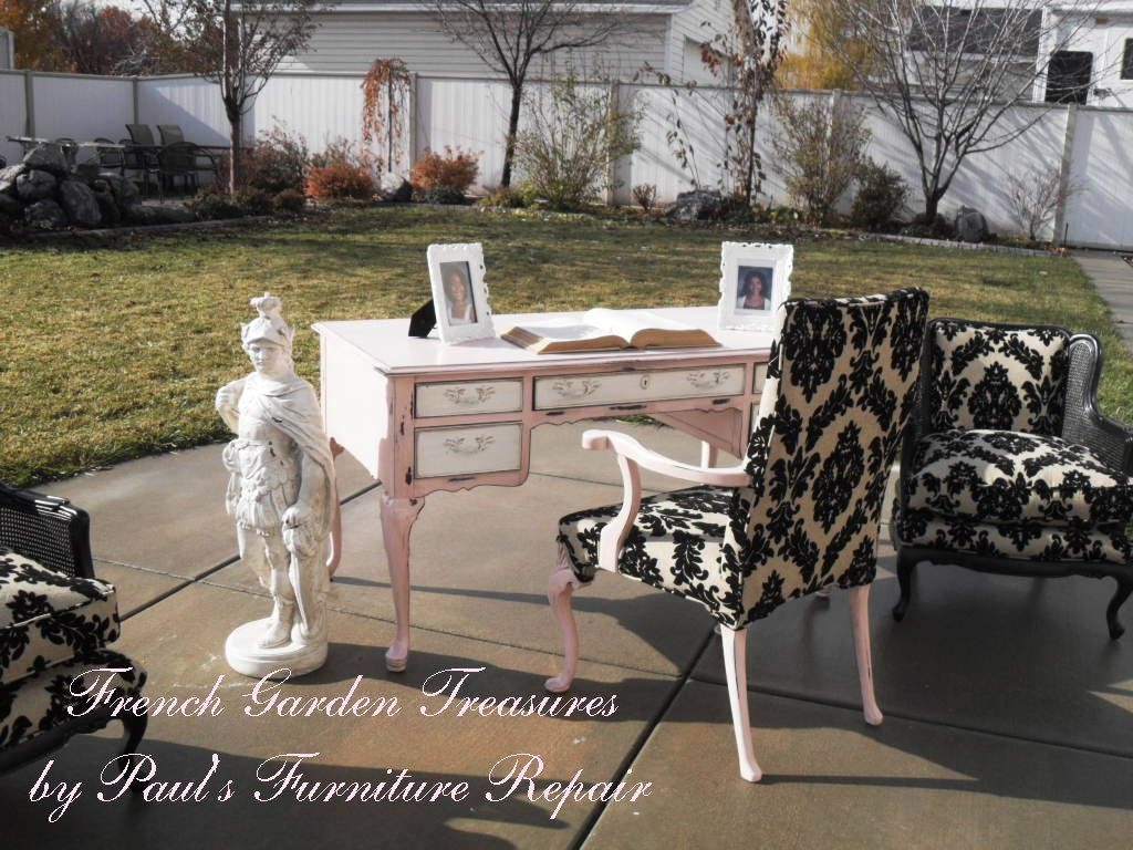 feminine executive office chairs carp chair with accessories french garden treasures