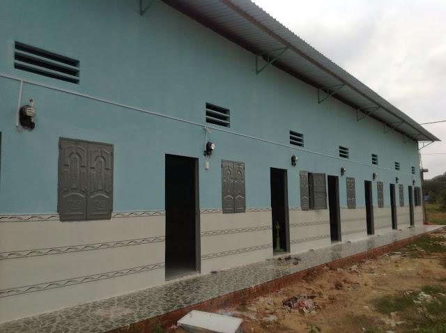 xây nhà trọ trọn gói tại Bình Dương