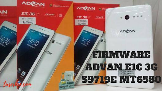 FIRMWARE ADVAN E1C 3G S9719E MT6580