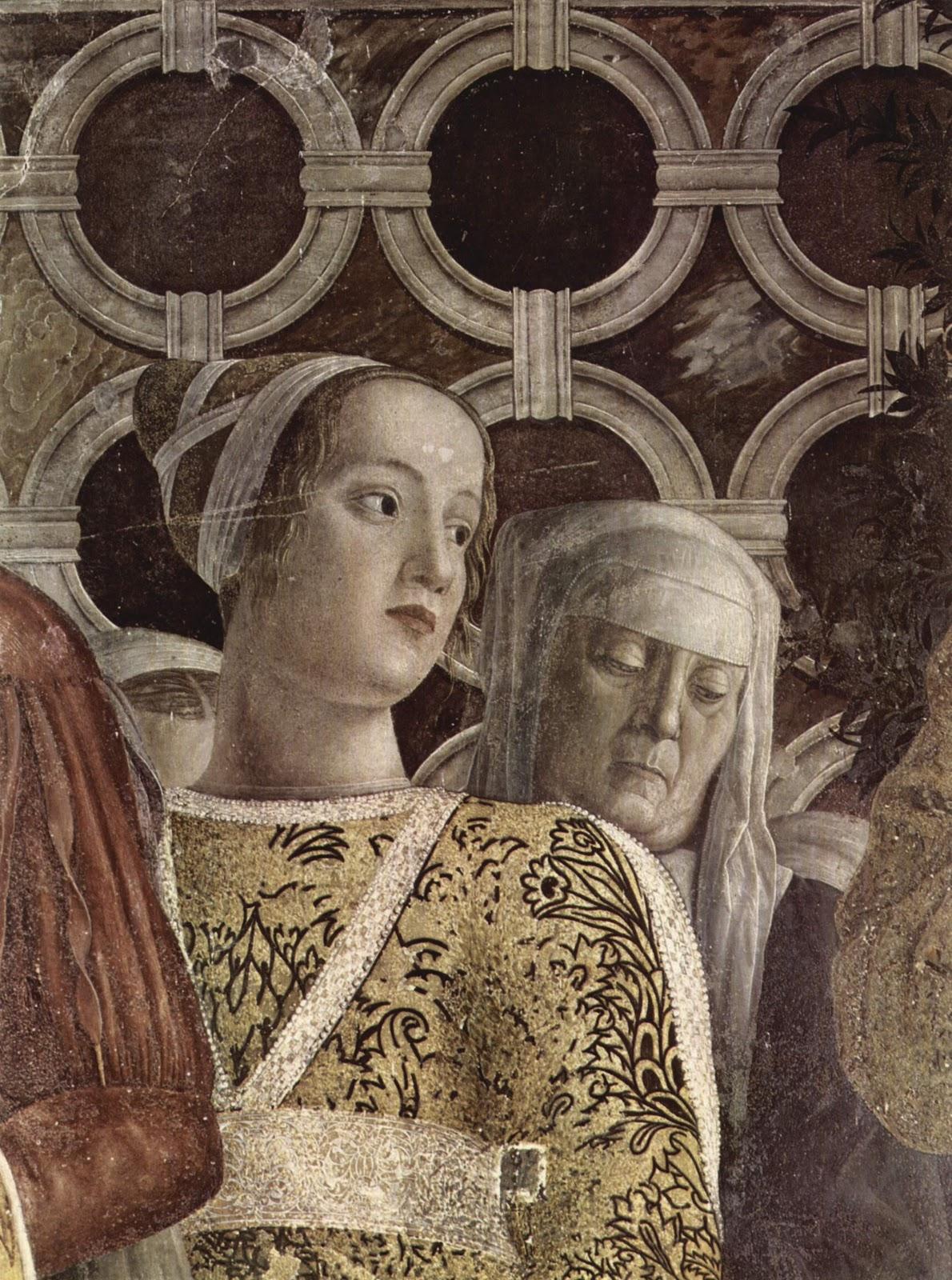 Andrea mantegna la camera degli sposi 1465 1474 art for Stanza degli sposi mantova