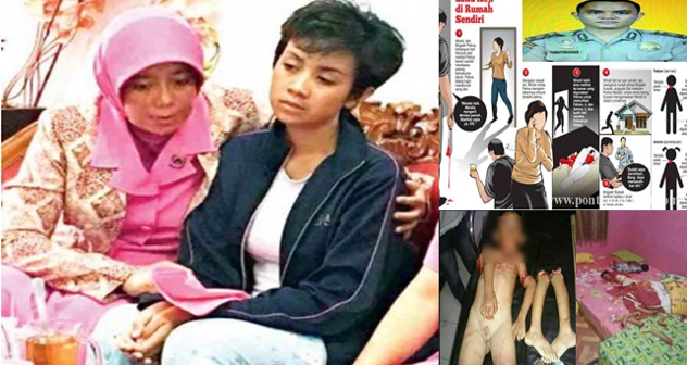 Kronologi Anggota Polis Kerat Dua Anak Kandung Untuk Persembahan Bisikan Gaib