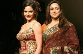 Isha Deol and Hema Malini  Bollywood celebrities
