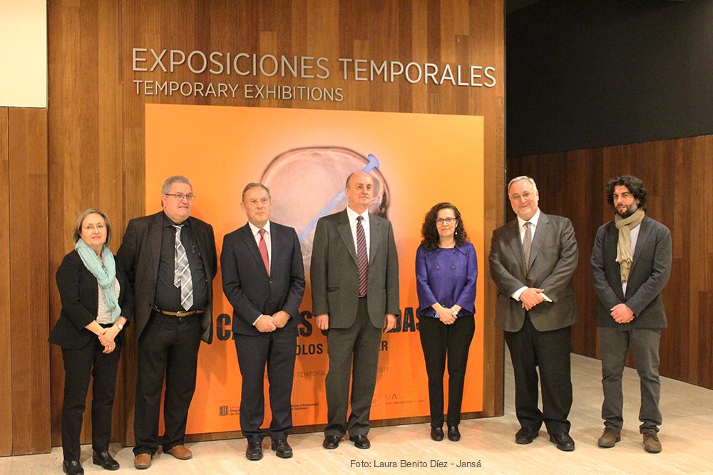 Inauguración oficial de la exposición 'Cabezas cortadas. Símbolos de poder' en el Museo Arqueológico Nacional. Foto: Laura Benito Díez - Jansá
