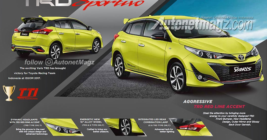 toyota yaris trd sportivo specs all new kijang innova 2.0 g m/t lux 2018 brochure ms blog