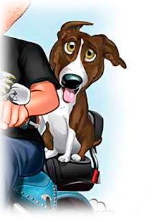 caricatura de cachorro