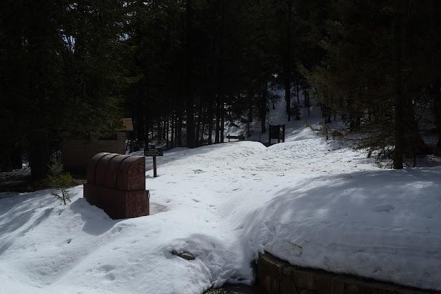 upper trailhead for Arcadia Trail