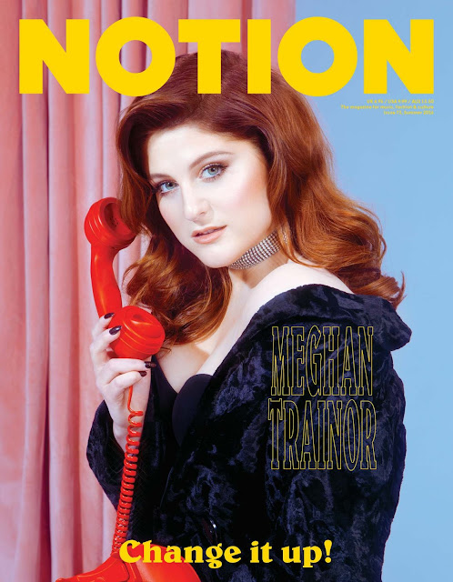 Singer, @ Meghan Trainor – Notion Magazine 2016