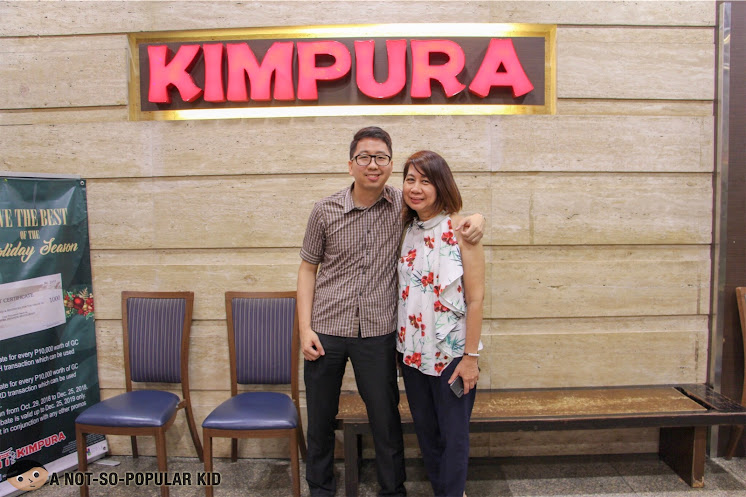 Renz Cheng and his mom in Kimpura, Greenbelt