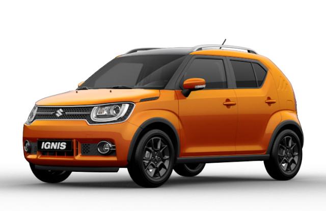 Suzuki Ignis 2018 Couleurs Colors