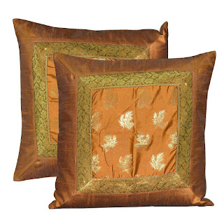 Brocade Silk Sofa Cushion Cover Decorative LargeThrow Pillows Protector