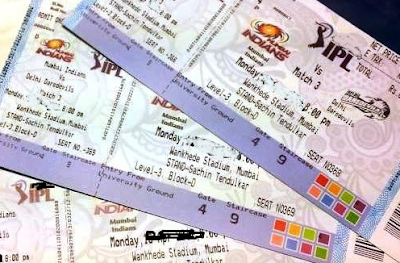 IPL 2017 Tickets