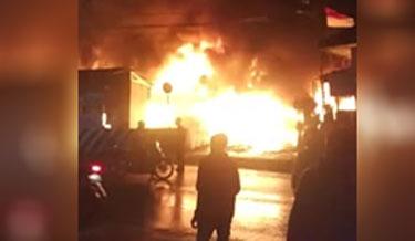 Kebakaran Pasar Pronojiwo