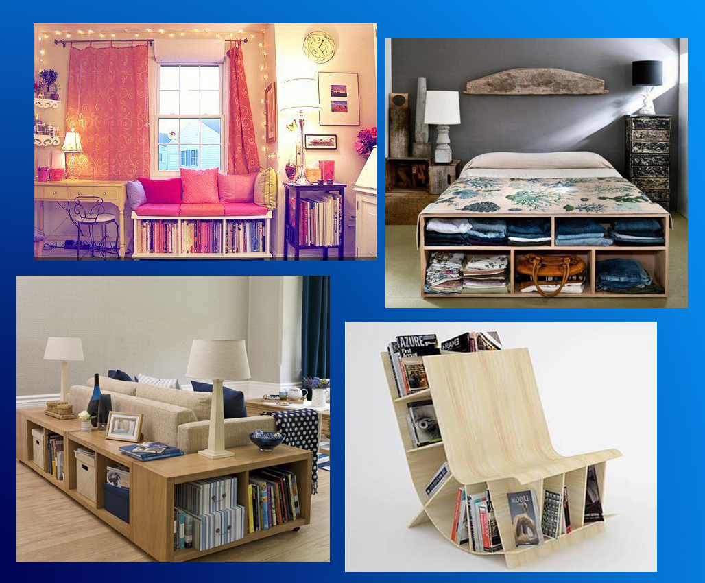 Free And Funny.. DIY: DIY Storage Ideas For Small Space Living