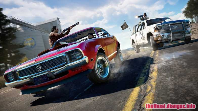 Game hành động 2018, Far Cry 5,