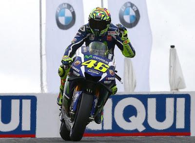 Ban Baru Michelin Jadi Penyebab Rossi Keteteran di Hari Pertama