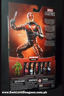 Marvel Legends Netflix Daredevil Action Figure Box