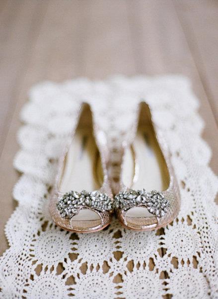 Vera Wang zapato plano novia boda wedding planner Cádiz