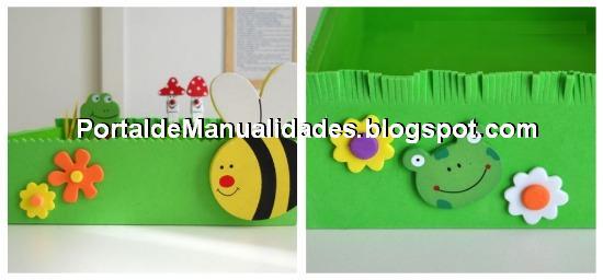 Junio 2011 portal de manualidades - Decorar paredes infantiles con goma eva ...