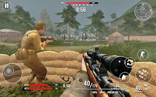 American vs Japanese Sniper Mod