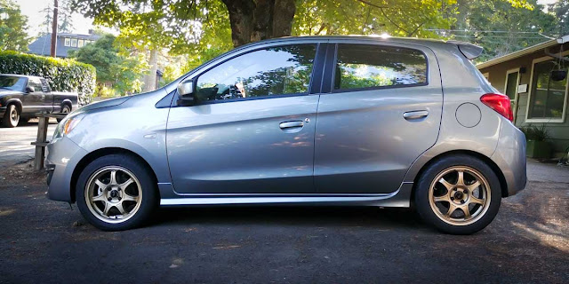 Mitsubishi Mirage Side Skirts