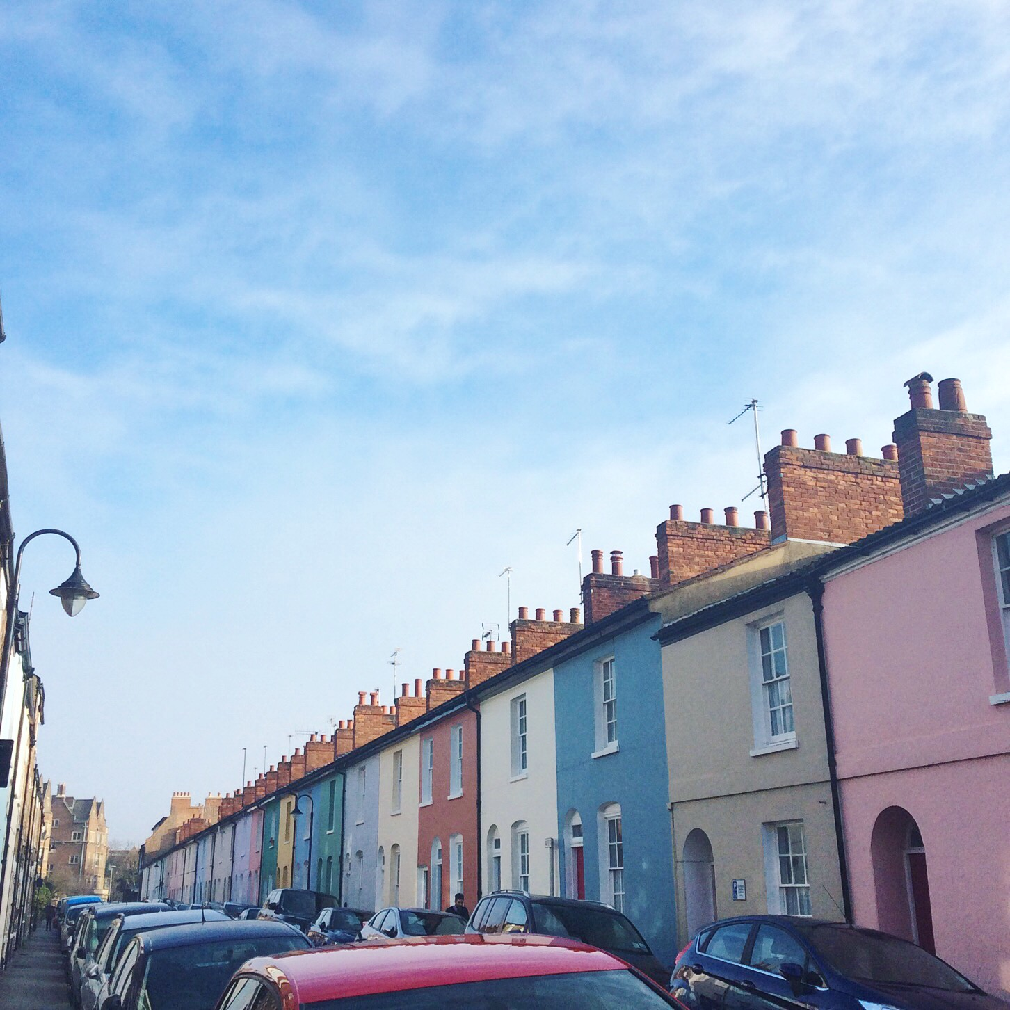 jericho colorful houses oxford