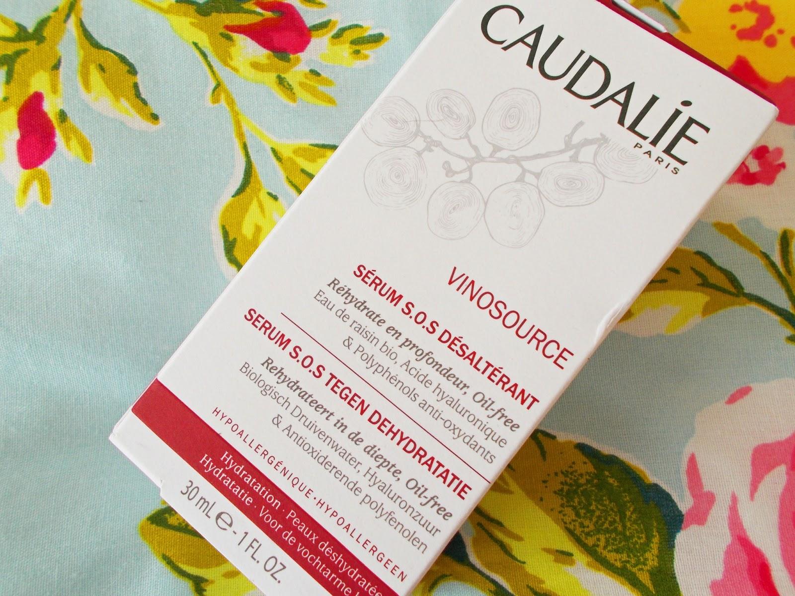 The Caudalie Vinosource S.O.S Thirst-Quenching Serum