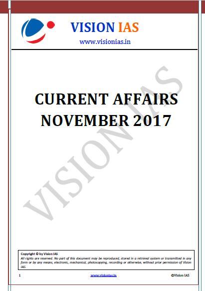Current Affair Magazine-November 2017
