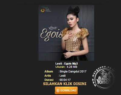 Lagu Lesti - Egois