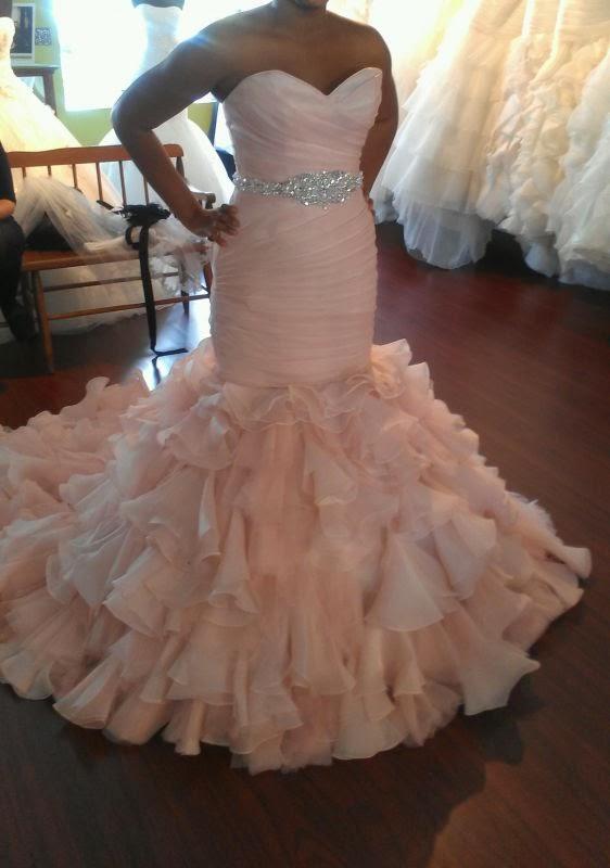 8370fb56de12 No White dress for me! ~ Curves Down The Aisle