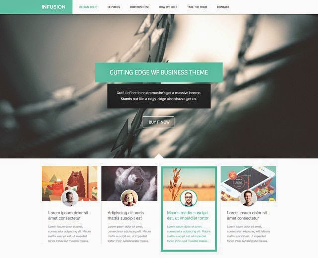 Infusion – Free Website Template