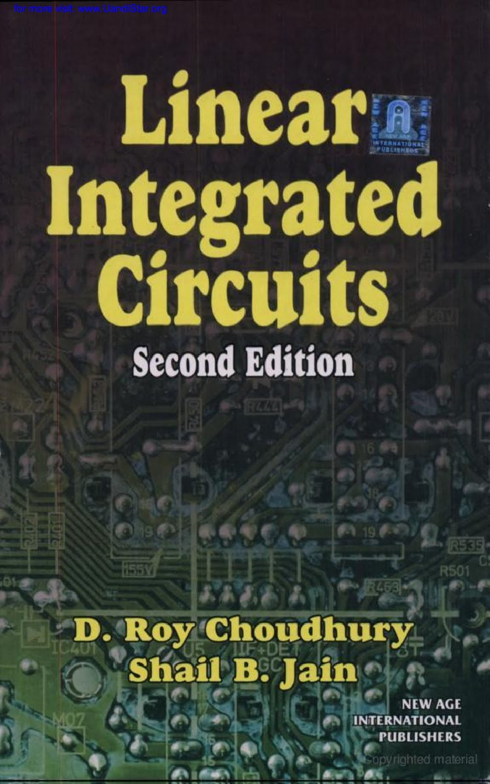 Linear Integrated Circuits By D Roy Choudhary Amp S B