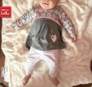 Babyset aus Elea und Babyherz von Rosarosa