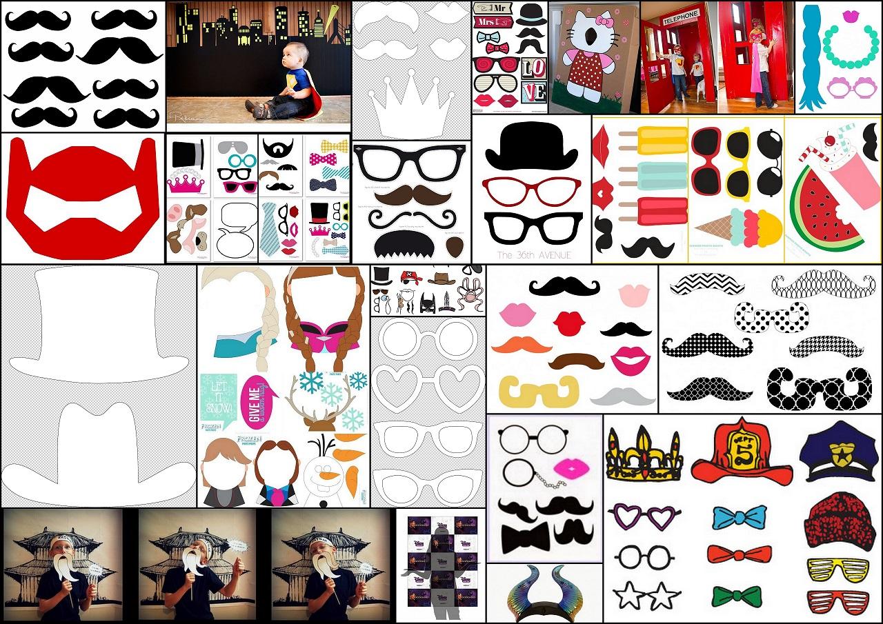 Divertidas Propuestas para tu Photo Booth. | Oh My Fiesta para Chicas!